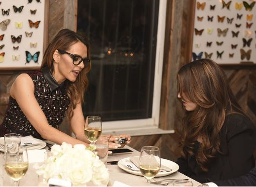 Maria Hatzistefanis, Founder Of Rodial, And Hanneli Mustaparta Host A Rodial Dinner For New York Fashion Week