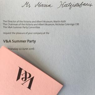 Maria V&A Party