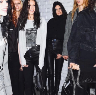 Maria Hatzistefanis New York fashion week alexander wang