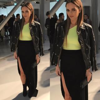 Maria Hatzistefanis London Fashion Week David Koma