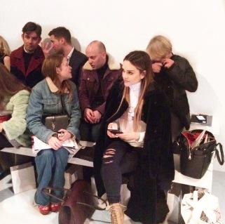 Maria Hatzistefanis London Fashion Week CSM