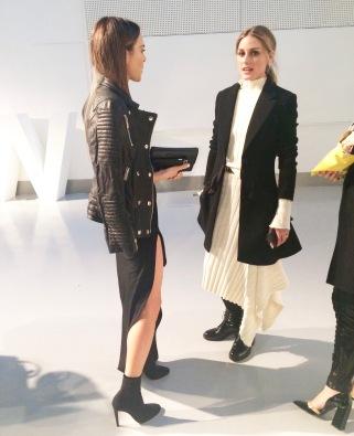 Maria Hatzistefanis London Fashion Week Olivia Palermo