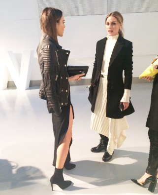 Maria Hatzistefanis London Fashion Week Olivia Palermo