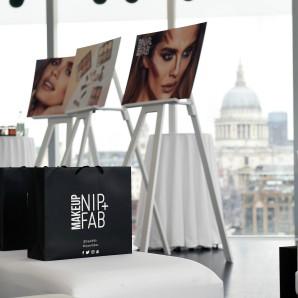 Tate Modern Nip+fab makeup launch Mario Dedivanovic
