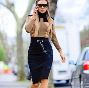 Maria Hatzistefanis street style, yeezy top, celine sunglases, mr benson, mrs rodial