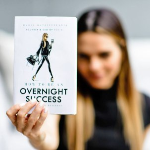 Maria Hatzistefanis - book - Mrs Rodial - How to be an overnight success