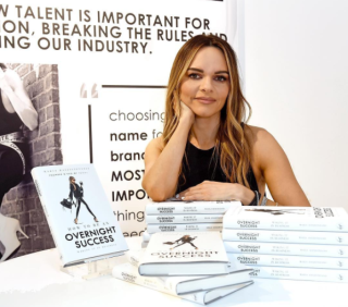 Maria Hatzistefanis - Mrs Rodial - How to be an overnight success book launch