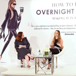 Maria Hatzistefanis - Mrs Rodial - How To Be An Overnight Success Book Launch - Nicola Moulton - Vogue Beauty Editor