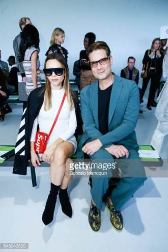 Maria Hatzistefanis - Mrs Rodial - Christian Siriano- New York Fashion week - 2017 - Supreme Louis Vuitton