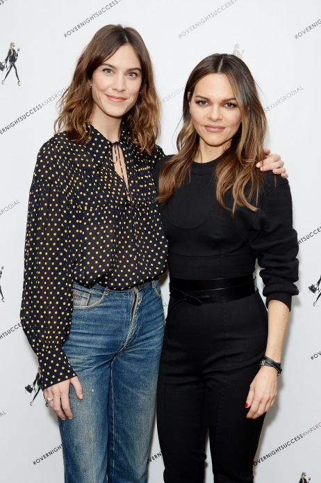 Alexa Chung Interviews Maria Hatzistefanis for the Launch of How To Be An Overnight Success